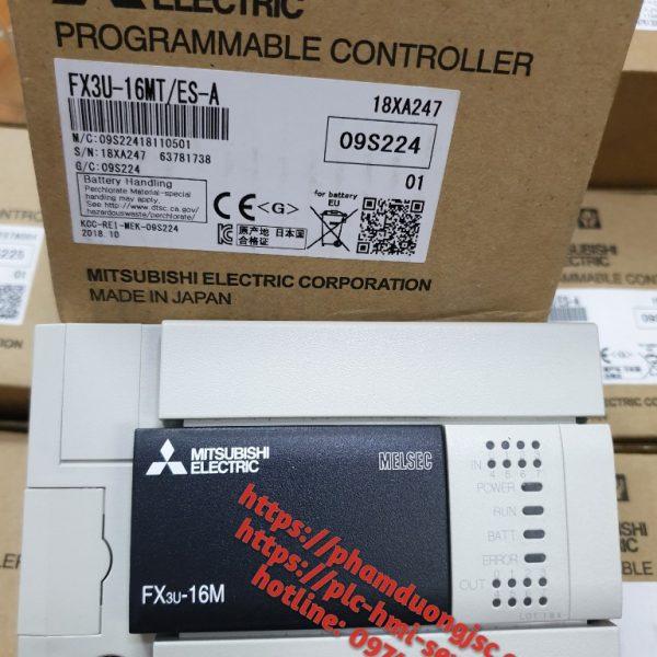 1 PLC FX3U-16MT/ES-A GIÁ 3.250.000 VNĐ